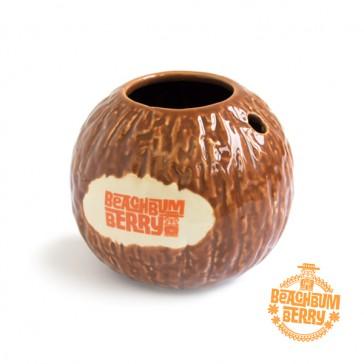 """Mug de noix de coco de Jeff """"Beachbum"""" Berry"""