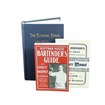 Collection de livres sur le Pré-Prohibitionnisme Cocktail Kingdom®